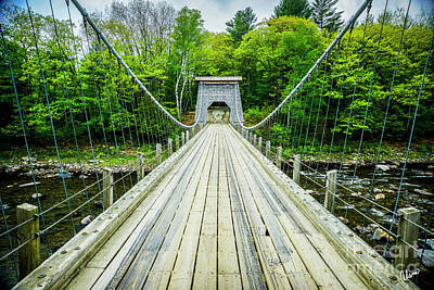 Photograph - Wire Bridge by Alana Ranney