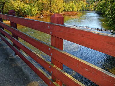 Photograph - Bridge Along The Pa At by Raymond Salani III