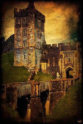 Arundel Castle Photograph - Bridge And Portal At Arundel by Chris Lord