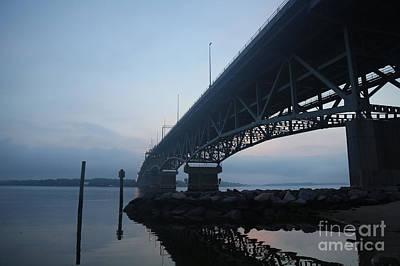 Photograph - Bridge At Dawn by Lara Morrison