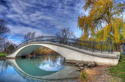 Bridge At Elizabeth Park Art Print