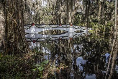 Photograph - Bridge At Magnolia Plantation by John McGraw