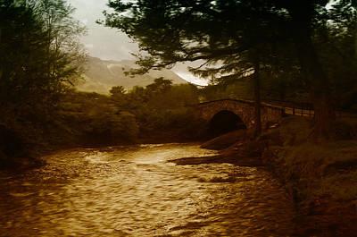 Bridge At The River Coe Art Print by Mark Denham