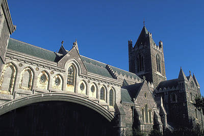 Photograph - Bridge At Trinity Church In Ireland by Carl Purcell