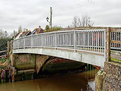 Photograph - Bridge At Upper Beeding by Dorothy Berry-Lound