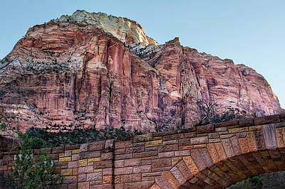 Photograph - Bridge At Zion National Park  by Phil Cardamone