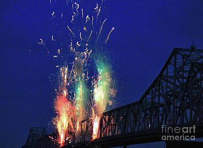 Photograph - Bridge Attack by Matthew Winn