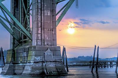 Photograph - Bridge Base by Bill Posner