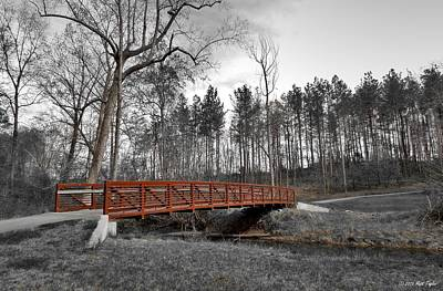Bridge Below Salem Lake Dam Art Print by Matt Taylor