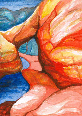Kelso Painting - Bridge by Bonnie Kelso