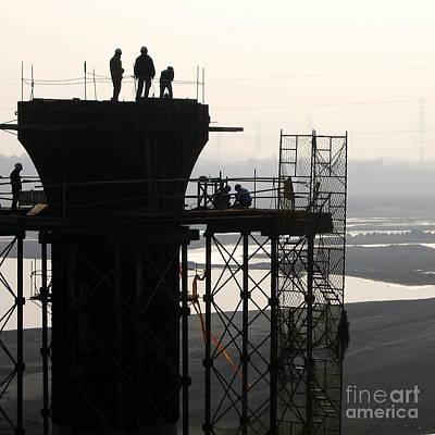 Photograph - Bridge Builders by Yali Shi