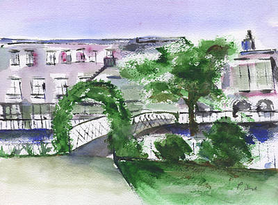 Painting - Bridge At Factors Walk by Frank Bright