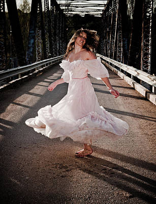Photograph - Bridge Dancer by Scott Sawyer