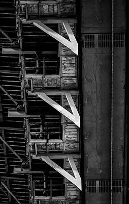 Photograph - Bridge Dna by Denise Dube