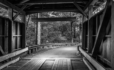 Rural Landscapes Photograph - Bridge Exit by Marvin Spates