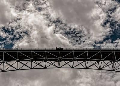 Bridge From Below Art Print