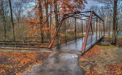 Daviess County Photograph - Bridge From The Past by Wendell Thompson