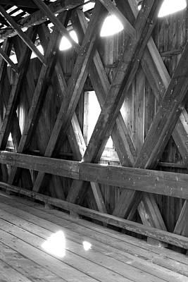 Photograph - Bridge Glow by Greg Fortier