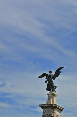 Photograph - Angel Bridge Guardian by JAMART Photography