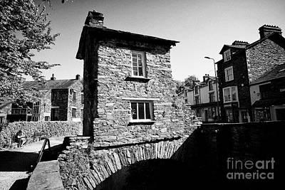 Ambleside Wall Art - Photograph - Bridge House Over Stock Beck In Ambleside Lake District Cumbria England Uk by Joe Fox
