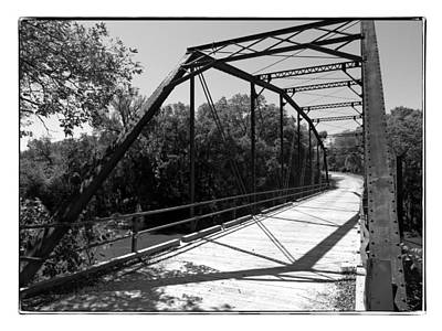 Photograph - Bridge In Black And White by Kyle West