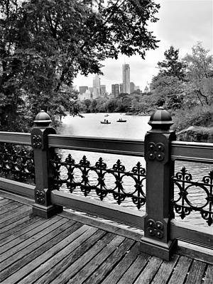 Photograph - Bridge In Central Park by Rob Hans