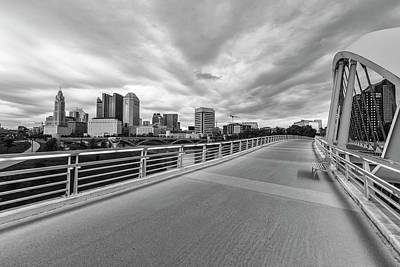 Photograph - Bridge In Columbus Ohio  by John McGraw