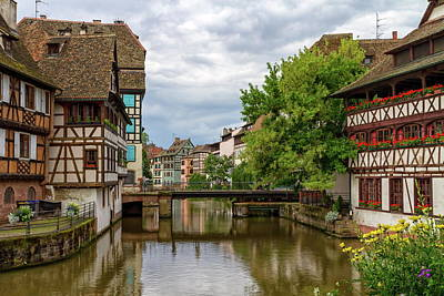 Photograph - Bridge In Petite France, Strasbourg by Elenarts - Elena Duvernay photo