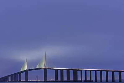 Photograph - Bridge In Twilight by Jon Glaser