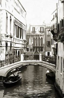 Photograph - Bridge In Venice by Dorothy Berry-Lound