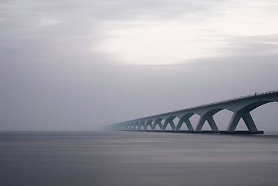 Zeeland Photograph - Bridge In Zeeland Netherlands by Billy Soden