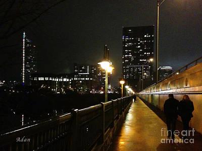 Bridge Into The Night Art Print