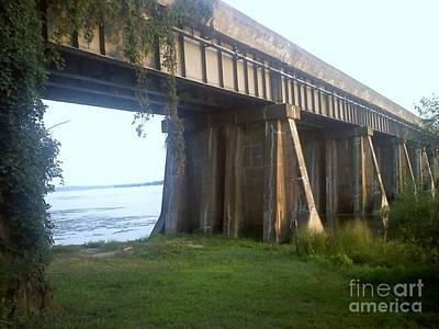 Photograph - Bridge In Leesylvania Park Va by Jimmy Clark