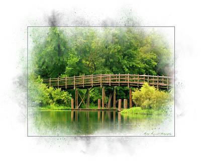 Photograph - Bridge by Marty Maynard