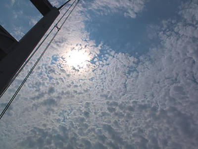 Photograph - Bridge Meet Sky by John Rossman