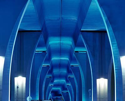 Bridge Miami Fl Art Print by Panoramic Images