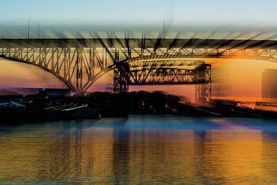 Photograph - Bridge Motion by Stewart Helberg