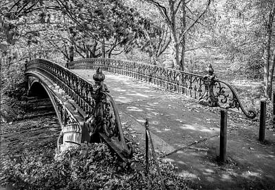 Photograph - Bridge No. 27 - Central Park - New York City by Daniel Hagerman