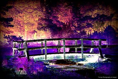 Digital Art - Bridge Of Dreams by Wesley Nesbitt