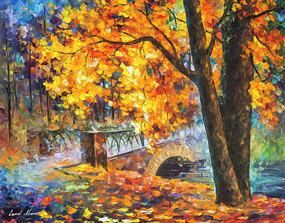 Painting -  Bridge Of Inception  by Leonid Afremov