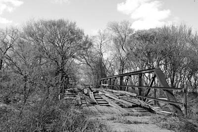 Photograph - Bridge Of Long Ago by Vonda Barnett