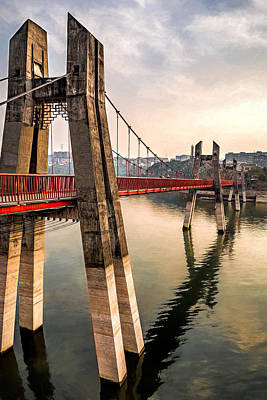 Photograph - Bridge Of Luck by Maria Coulson