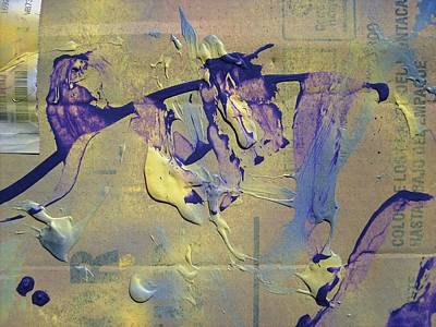 Bridge Of Old Hag Troll Art Print by Bruce Combs - REACH BEYOND