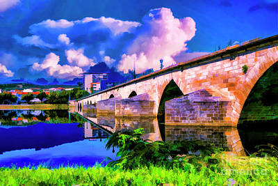 Photograph - Bridge Of Reflections by Rick Bragan