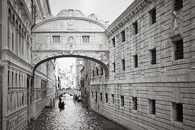 Photograph - Bridge Of Sighs 5346-2 by Marco Missiaja