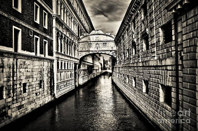Bridge Of Sighs Art Print by Alessandro Giorgi Art Photography