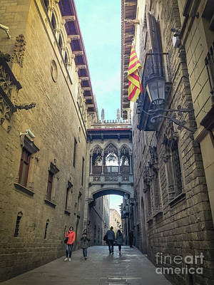 Photograph - Bridge Of Sighs - Barcelona by Colleen Kammerer