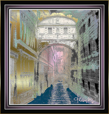 Painting - Bridge Of Sighs by Larry Talley
