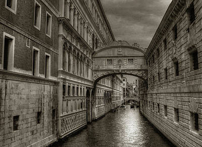 Photograph - Bridge Of Sighs by Michael Kirk