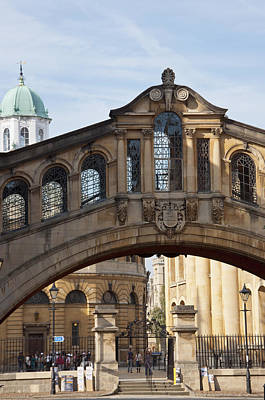 Bridge Of Sighs Oxford Art Print by Andrew  Michael